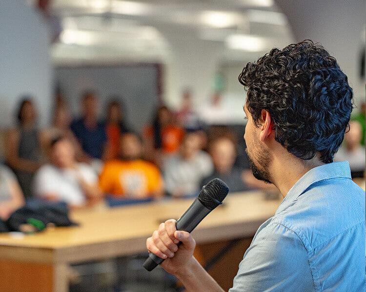 office speech